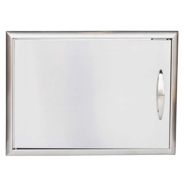 Stainless Steel Single Access Door by Barbeques Galore