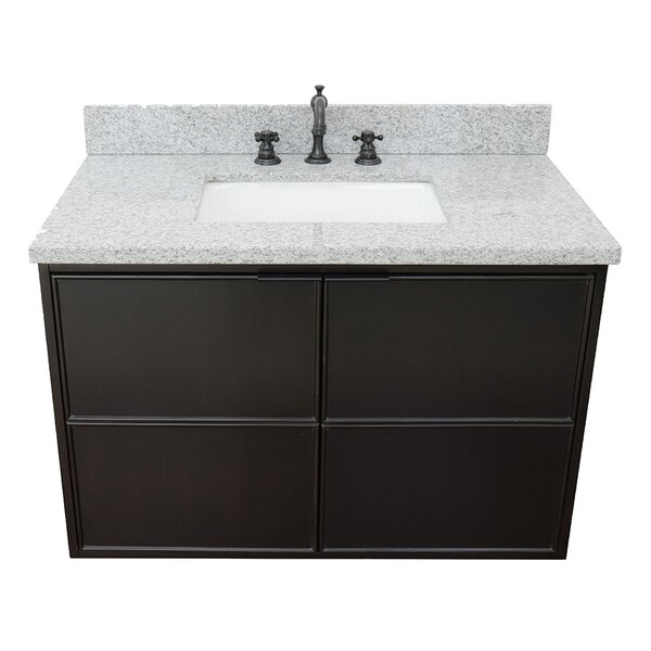 Ellesborough 37 Wall-Mounted Single Bathroom Vanity Set by Gracie Oaks