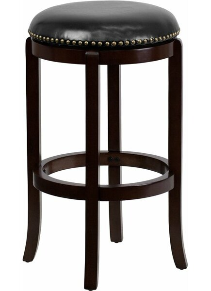Jenkin 29'' Swivel Bar Stool by Charlton Home