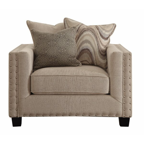 Elam Upholstered Armchair by Darby Home Co