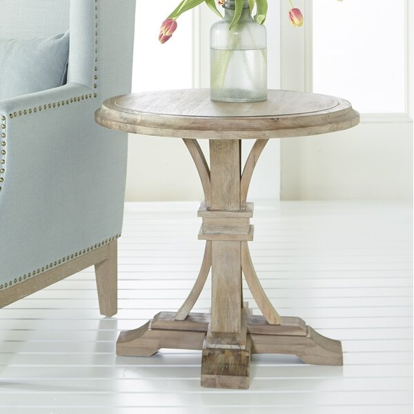 Lechlade Round End Table by Three Posts