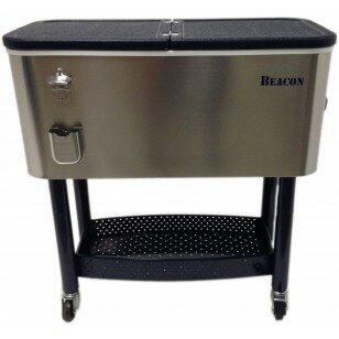 65 Qt. Rolling Party Cooler by Beacon Garden Produ