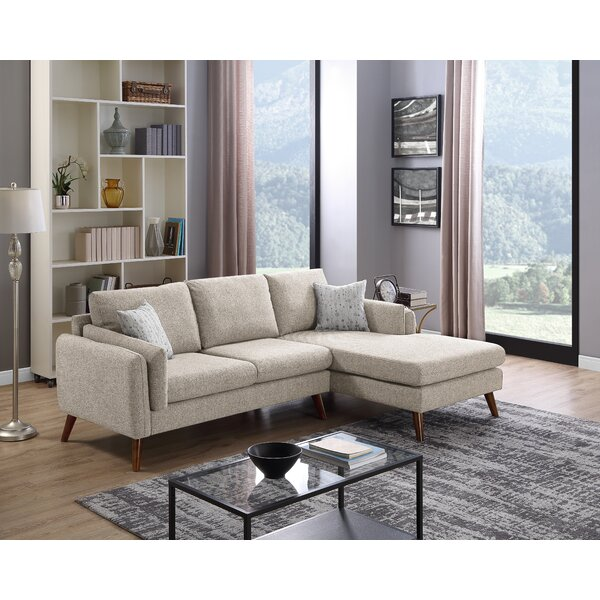 Ahmed Right Facing Stationary Sectional By Wrought Studio