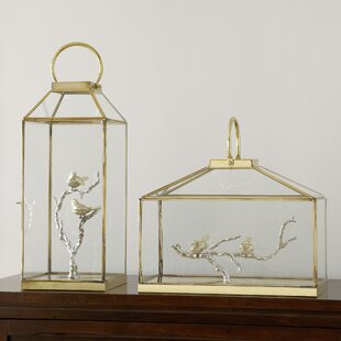 Purchase Glass Bird Lantern By Birch Lane™