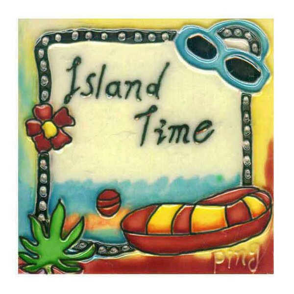 Island Time Tile Wall Decor by Continental Art Center