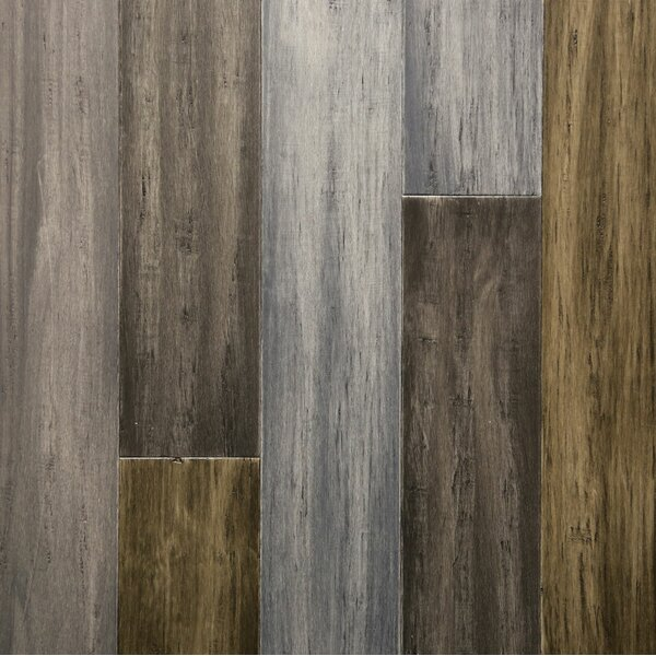 5 Engineered Bamboo Flooring in Heartstone by Islander Flooring