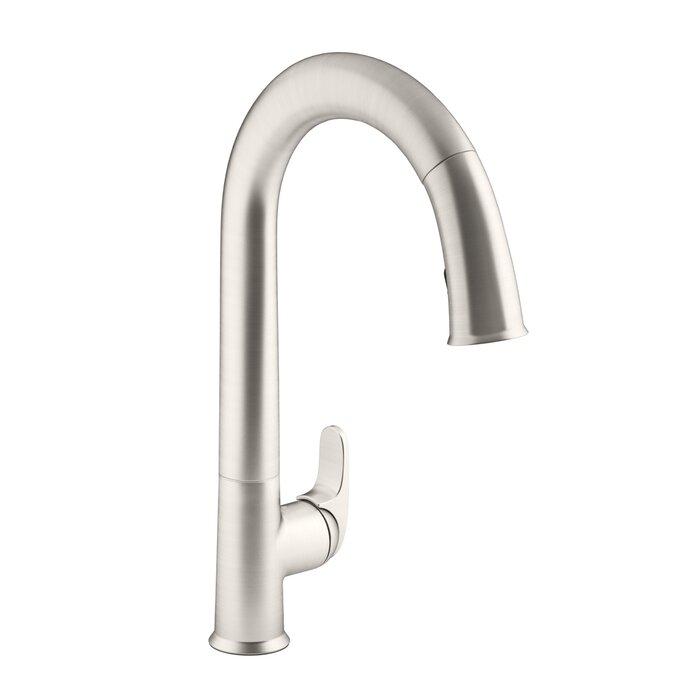 Sensate Pull-Down Touchless Single Handle Kitchen Faucet
