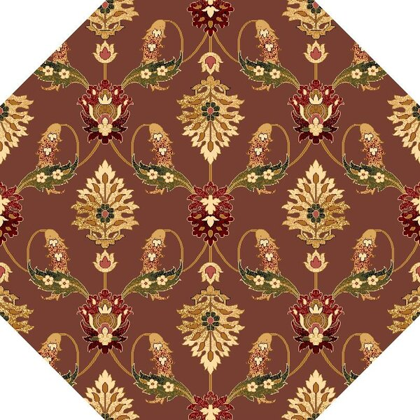 Greenfield Plum Area Rug by Charlton Home
