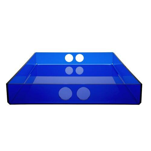 Schreibtischablage ClearAmbient Farbe: Blau| Größe: 29 cm B x 41 cm T | Büro > Bürotische > Bürotische-Zubehör | ClearAmbient