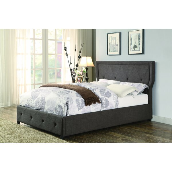 Caroline Upholstered Platform Bed by Latitude Run