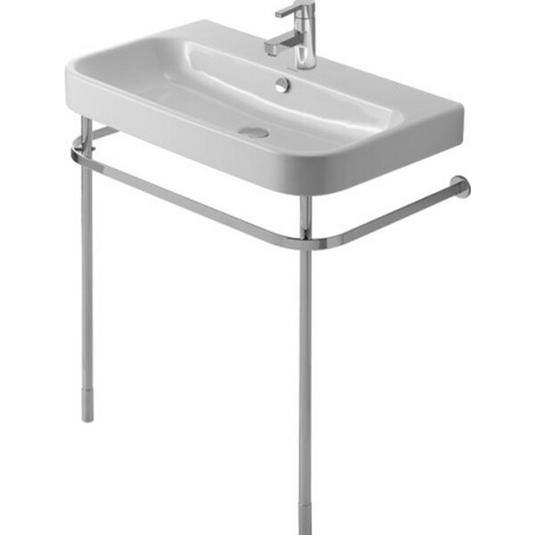 Happy D. Metal 30 Console Bathroom Sink by Duravit