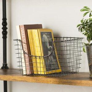 Elegant Scoop Storage Basket