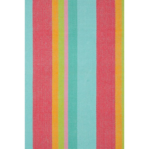 Hand Woven Pink/Blue Area Rug by Dash and Albert Rugs