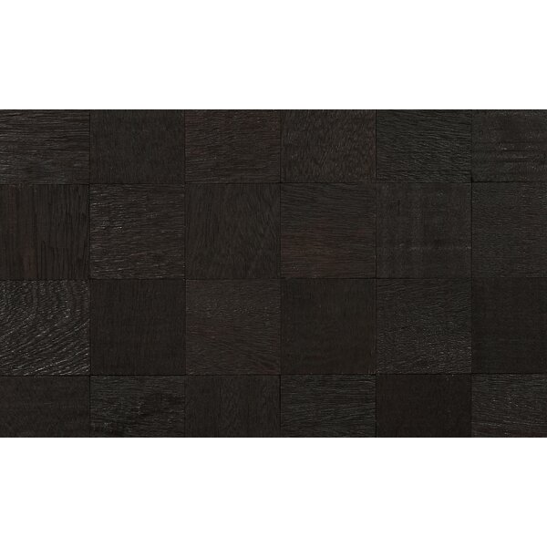Coterie 2-3/4 Solid Kupay Parquet Hardwood Flooring in Black by IndusParquet