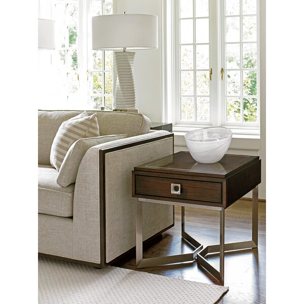 MacArthur Park Granville End Table with Storage by Lexington