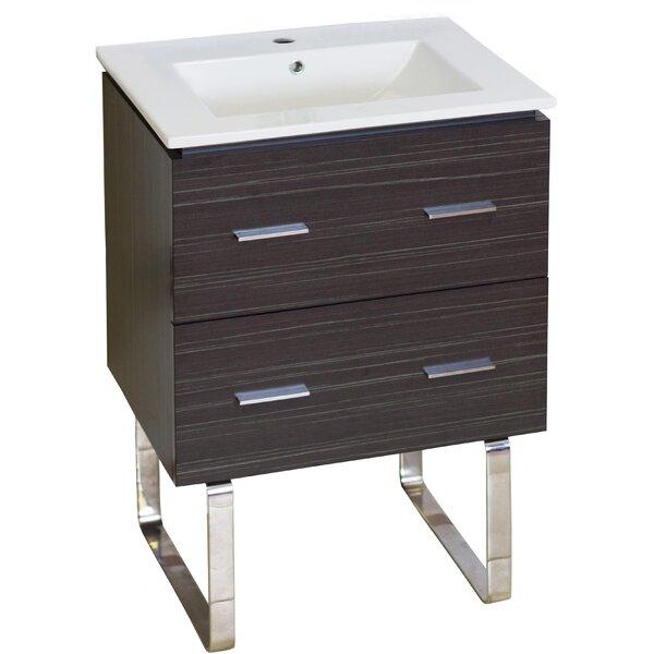 Maryalice Floor Mount 24 Single Bathroom Vanity Set by Royal Purple Bath Kitchen