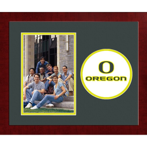 NCAA Oregon Ducks Spirit Photo Picture Frame by Campus Images
