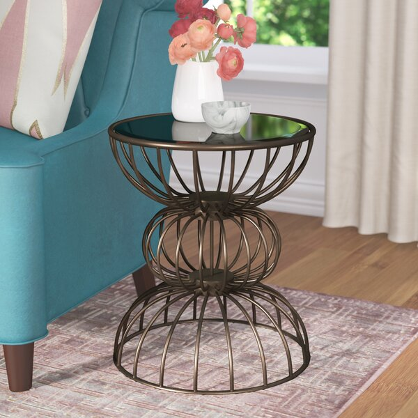 Keiser Wire Ball End Table By Willa Arlo Interiors