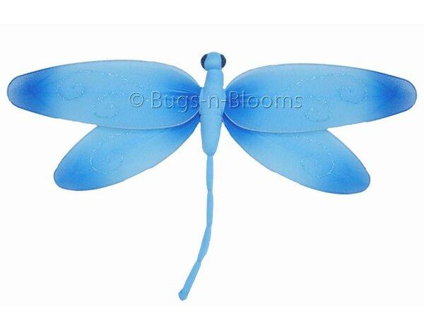 Krysta Dragonfly Hanging Swirls Nylon 3D Wall Decor by Harriet Bee