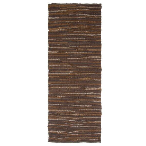 Sandeep Accent Hand-Woven Chocolate Area Rug by Highland Dunes
