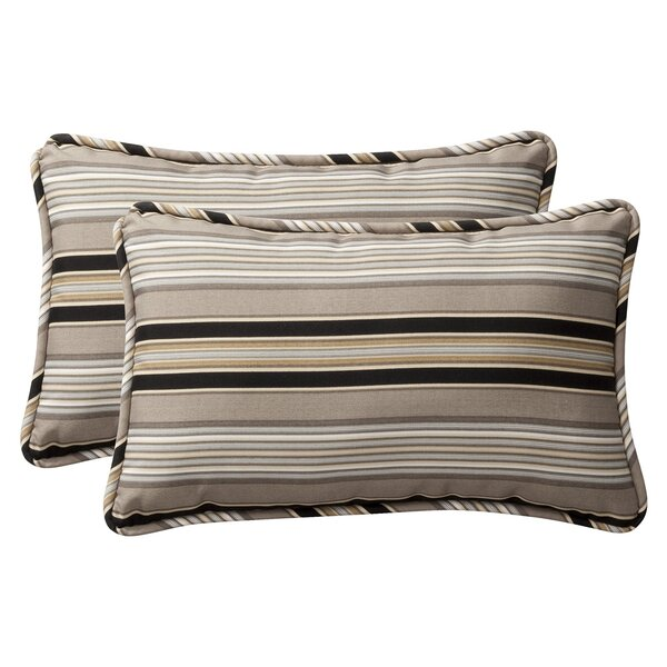 Broughton Outdoor Throw Pillow (Set of 2) by Alcott Hill