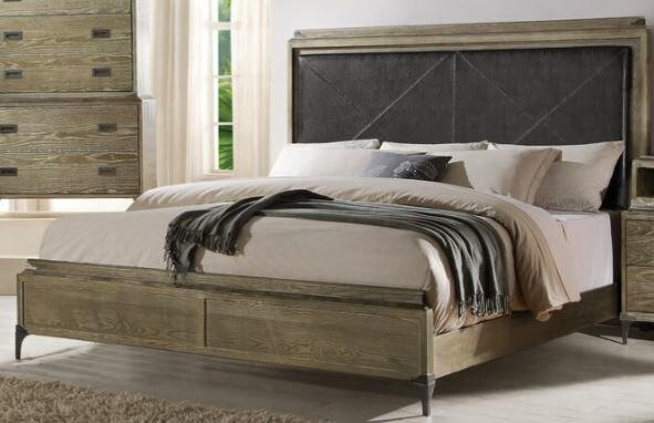 Bedford Upholstered Panel Bed by Foundry Select