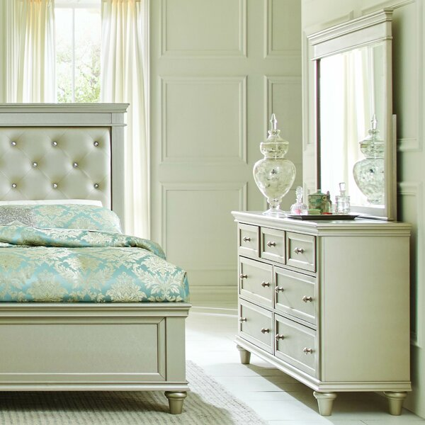 Celine 7 Drawer Dresser with Mirror by Willa Arlo Interiors