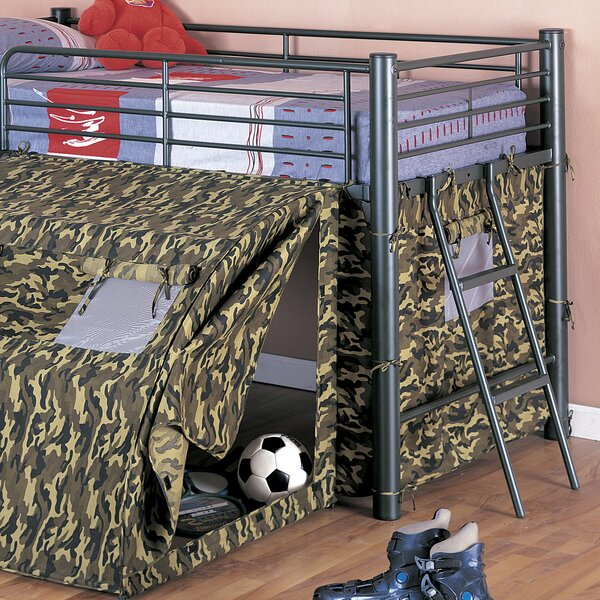 G.I Low Loft Bed by Wildon Home ®