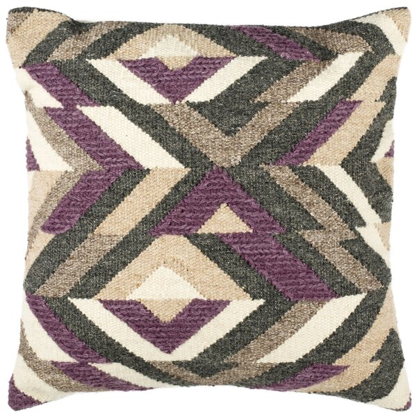 Bantom Wool Throw Pillow by Foundry Select