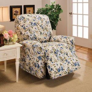 Stretch Jersey Solid Recliner Slipcover by Andover Mills