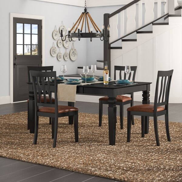 Langwater Traditional 5 Piece Dining Set by Beachcrest Home
