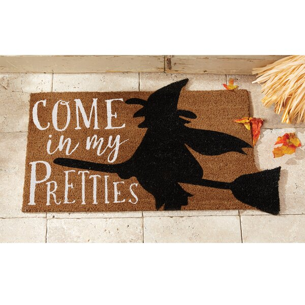 Come In My Pretties Halloween Doormat by Mud Pie�