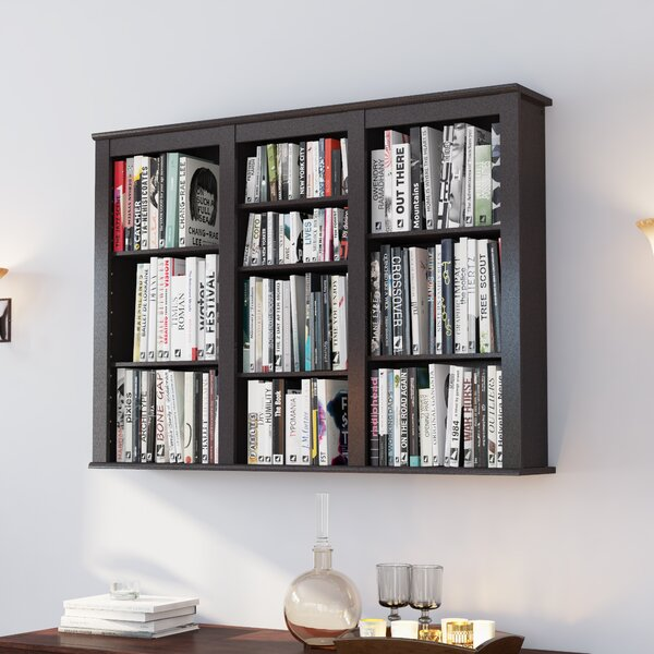 Triple Media Multimedia Wall Mounted Storage Rack by Darby Home Co