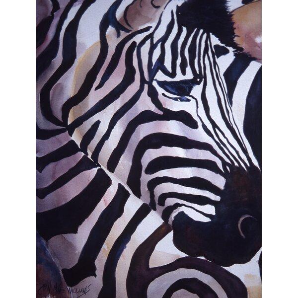 Zebra Head House Vertical Flag by Caroline's Treasures