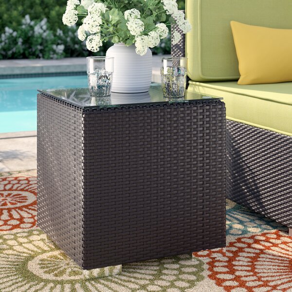 Brentwood Glass Side Table By Sol 72 Outdoor