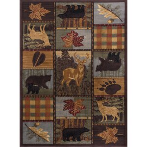 Alers Brown Area Rug