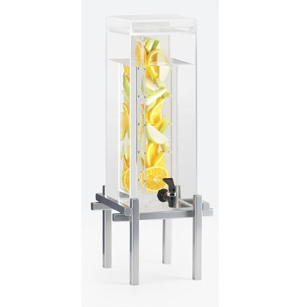 One by One 5 Gal Infusion Beverage Dispenser by Cal-Mil