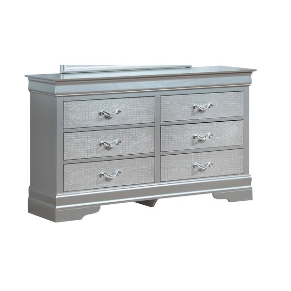 Paignton 6 Drawer Double Dresser by Mercer41