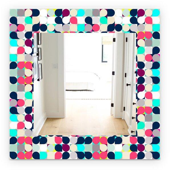 Circular Dance 11 Wall Mirror