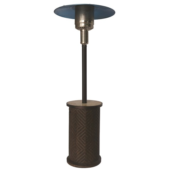 Portofino Stainless Steel Propane Patio Heater by Bond Manufacturing