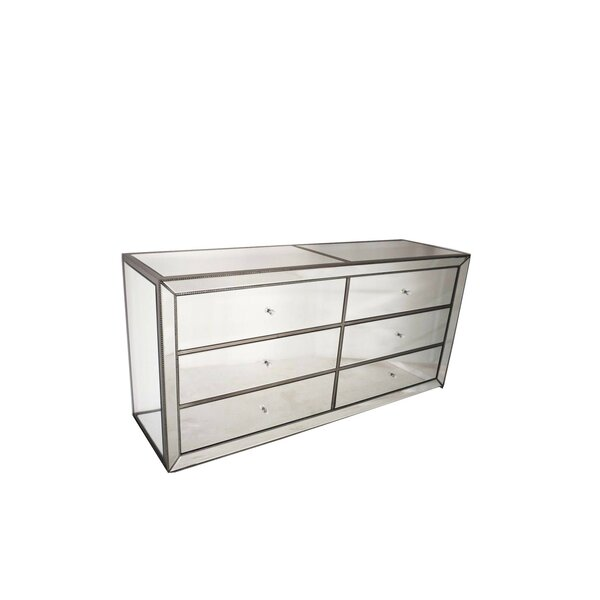 Manuela 6 Drawer Double Dresser by Everly Quinn