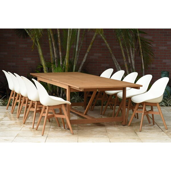 Cruce 11 Piece Dining Set by Corrigan Studio