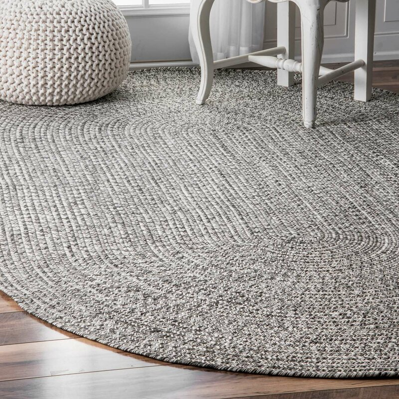 Wade Logan Kulpmont Gray Indoor/Outdoor Area Rug & Reviews | Wayfair