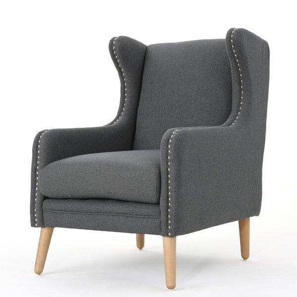 Bouffard Wingback Chair by Mercury Row