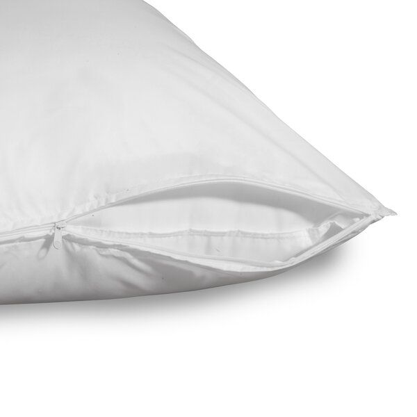 Anti-Allergy Clean Pillow Protectors (Set of 2) by Allied Home