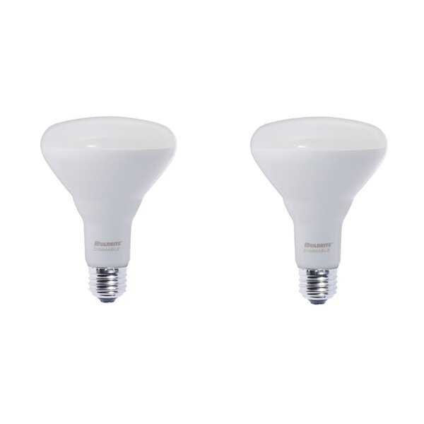 11W E26 Dimmable LED Spotlight Light Bulb Frosted (Set of 2) by Bulbrite Industries