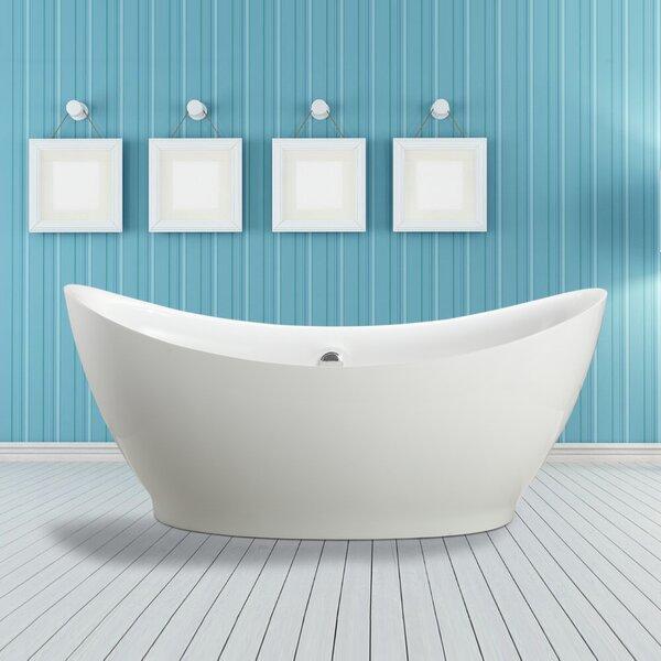 Divinity 67.5 x 31.5 Soaking Bathtub by Vinnova