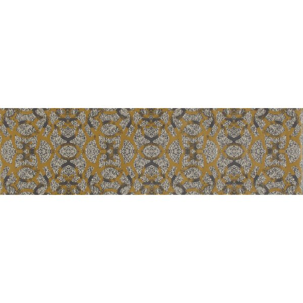 Delanie Yellow Area Rug by Mercer41
