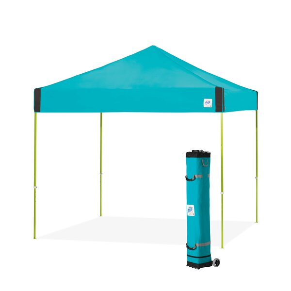 Pyramid 10 Ft. W x 10 Ft. D Steel Pop-Up Canopy by E-Z UP