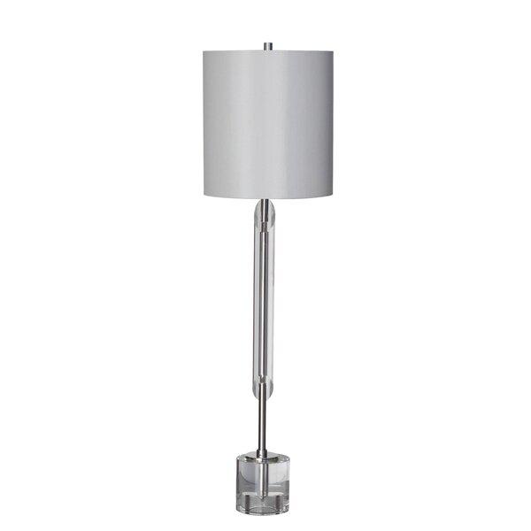 Mercedes Cylinder Shade 33 Table Lamp by Orren Ellis